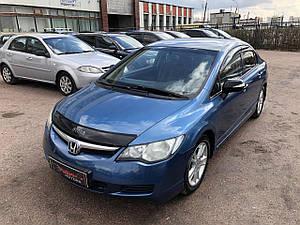 Мухобойка, дефлектор капота HONDA Civic с 2006-2012 г.в.седан