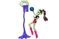 Кукла Венера Макфлайтрап Каскетбол Оригинал Monster High Casketball Champ Venus Mcflytrap Doll Giftset (DXY08)