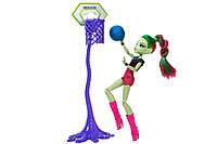 Кукла Венера Макфлайтрап Каскетбол Monster High Casketball Champ Venus Mcflytrap Doll Giftset