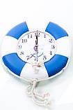 """Часы деревянные """"Спасательный круг """", фото 8"""
