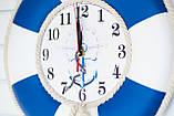 """Часы деревянные """"Спасательный круг """", фото 7"""
