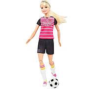 Кукла Барби Двигайся Как Я Футболистка, шарнирная, оригинал Barbie Made to Move The Ultimate Posable Soccer