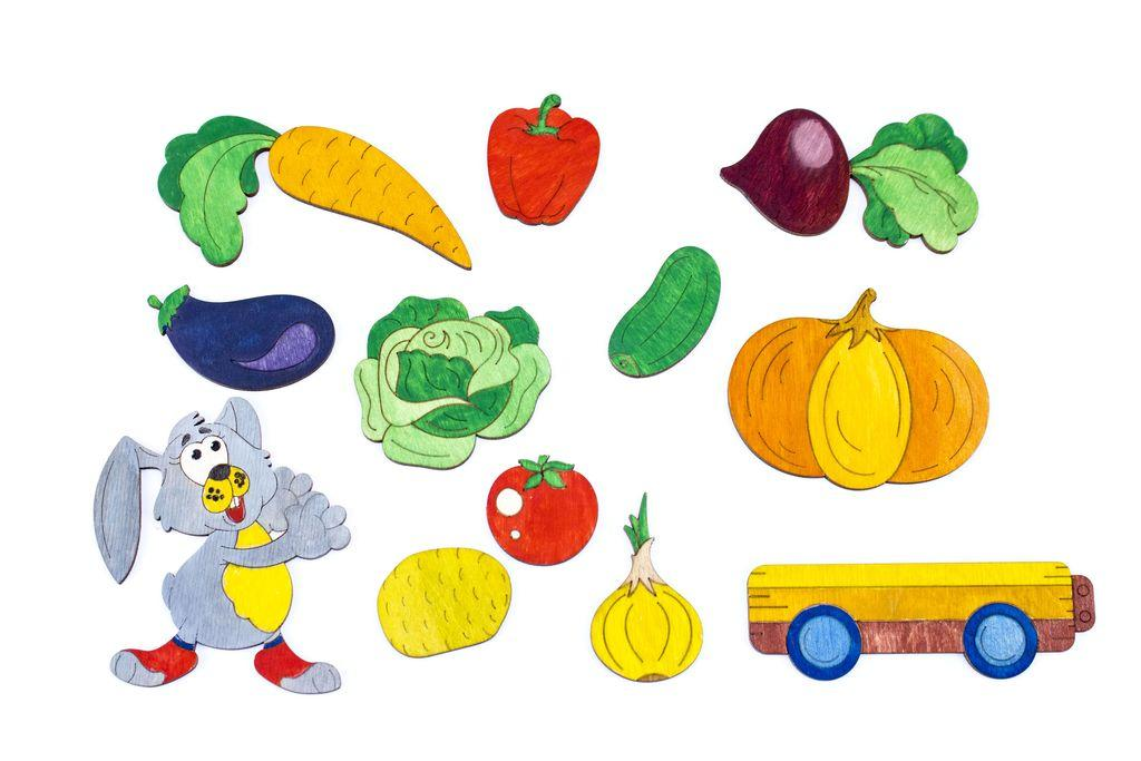 """Досточка - розмальовка """"Овочі"""" (Досточка - раскраска ..."""