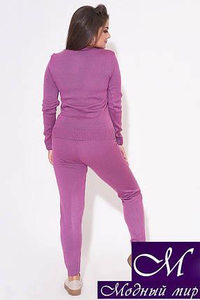 Женский вязаный костюм большого размера (р. УН - 48-52) арт. 31-993, фото 2