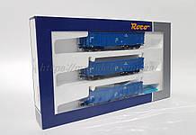 Roco 76128 комплект з 3х вантажних вагонів, приналежність PKP Cargo, масштабу 1/87, Н0