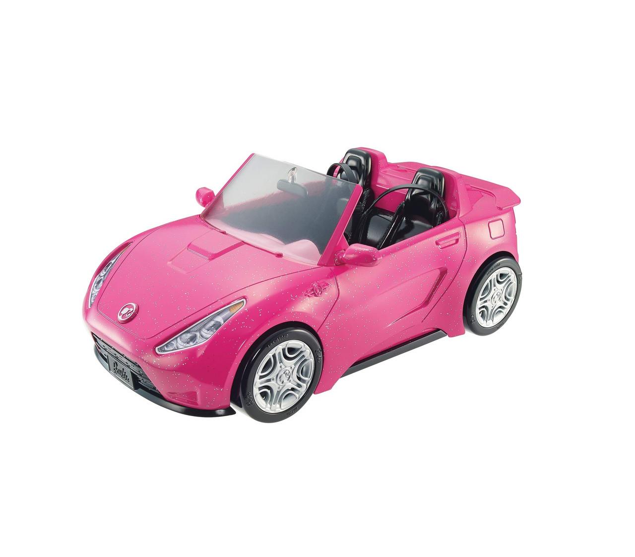 Гламурный розовый Кабриолет Оригинал для 2-х кукол Барби (DVX59)