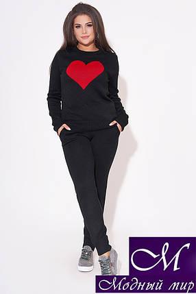 Женский вязаный костюм больших размеров (р. УН - 48-52) арт. 31-994, фото 2