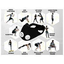 Тренировочная маска для бега  ELEVATION TRAINING MASK | Маска для тренировки дыхания, фото 3