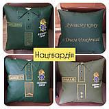 Подарочная подушка униформа полицейскому, медику, сотруднику СБУ, пожарнику, стоматологу, моряку, фото 4