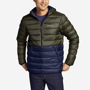 Мужской пуховый анорак Eddie Bauer Men's CirrusLite Down Pullover Dk Loden S