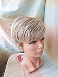 Короткий парик из термоволос платиновый блонд RG4400-15ВТ613, фото 2