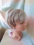 Короткий парик из термоволос платиновый блонд RG4400-15ВТ613, фото 3