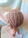Короткий парик из термоволос платиновый блонд RG4400-15ВТ613, фото 4