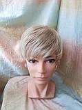 Короткий парик из термоволос платиновый блонд RG4400-15ВТ613, фото 5