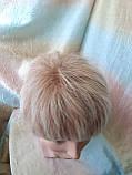 Короткий парик из термоволос платиновый блонд RG4400-15ВТ613, фото 7
