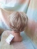 Короткий парик из термоволос платиновый блонд RG4400-15ВТ613, фото 8