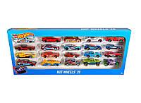 Набор машинок Хот Вилс 20 шт Hot Wheels 20 Car Gift Pack (Styles May Vary)