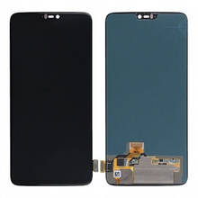 Дисплей OnePlus 6 A6003 с сенсором (тачскрином) черный, TFT