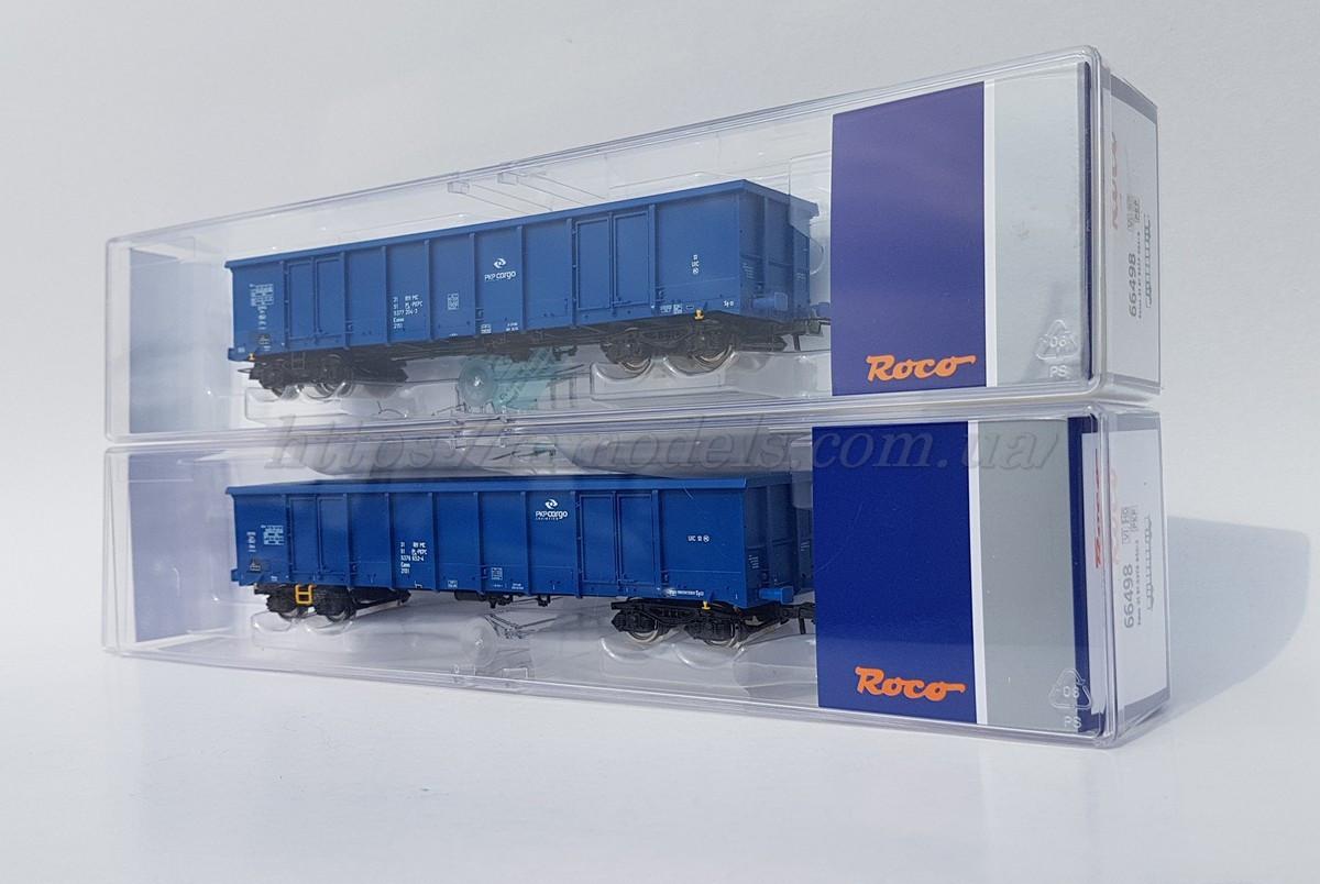Roco 76044 комплект из 2х грузовых вагонов, принадлежность PKP Cargo, масштаба 1/87, Н0