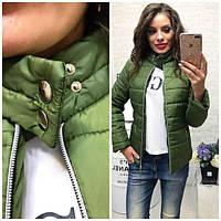 Куртка ветровка женская 42-46 рр. хаки, фото 1