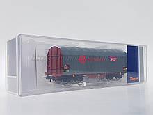 Roco сягає 76 450 модель 4х осного тентованого критого вагона Ermewa, приналежність SNCF, масштабу 1/87, H0
