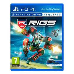 Игра Sony PS4 Rigs Mechanized Combat League (только для VR) (русская версия)