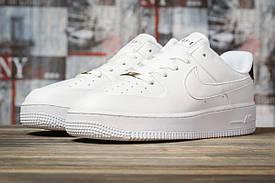 Женские низкие кроссовки Nike Air Force AF-1, белые / жіночі кросівки найк Форс (Топ реплика ААА+)
