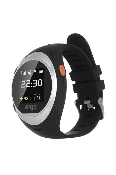 Смарт годинник ERGO GPS Tracker Advanced Color A010 - Детский трекер (Сріблястий)