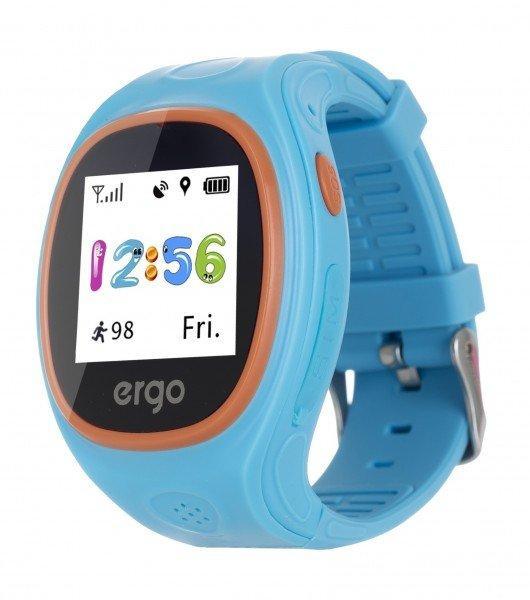 Смарт годинник ERGO GPS Tracker Junior Color J010 - Детский трекер (Синій)