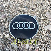 3D наклейка для дисків Audi. 65мм ( Ауді )
