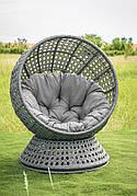 Крісло крутиться Верона сіре