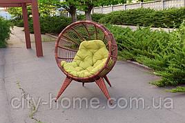 Крісло з штучного ротанга Манго коньяк