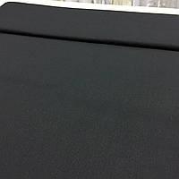 Бязь однотонная чёрная, ш. 218 см