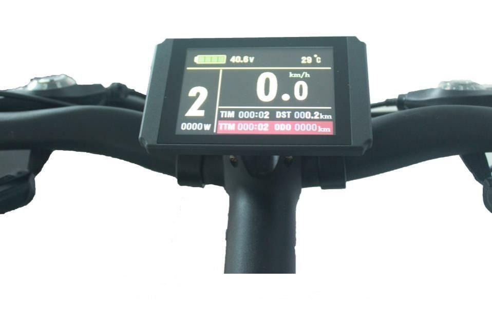 Дисплей LCD8S + USB 24;36;48В для электровелосипеда