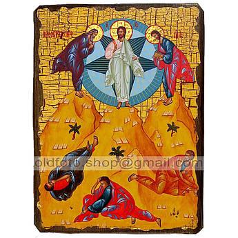 Икона Преображение Господне ,икона на дереве 130х170 мм