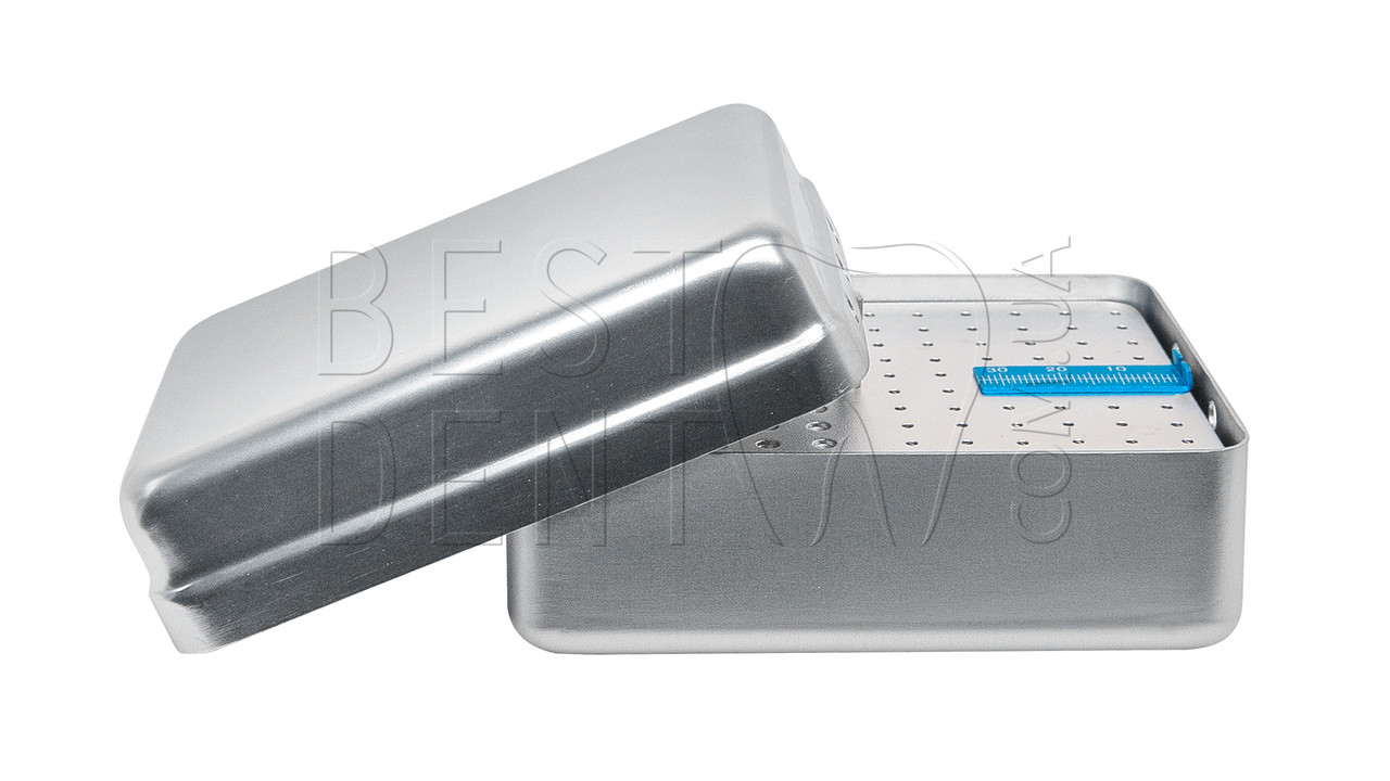 Стерилизатор для боров и эндо файлов (большой) 120отв, серый, эндолинейка