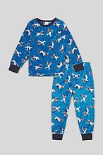 Синяя пижама для мальчика C&A Германия Размер 104