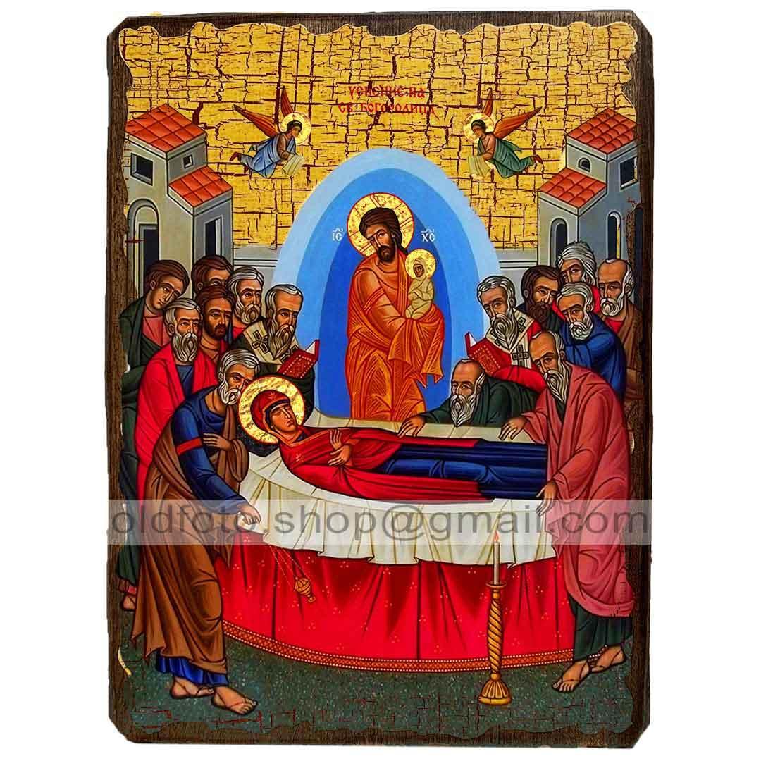 Икона Успение Пресвятой Богородицы (130х170мм)