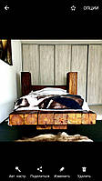 Кровать из ретро балок