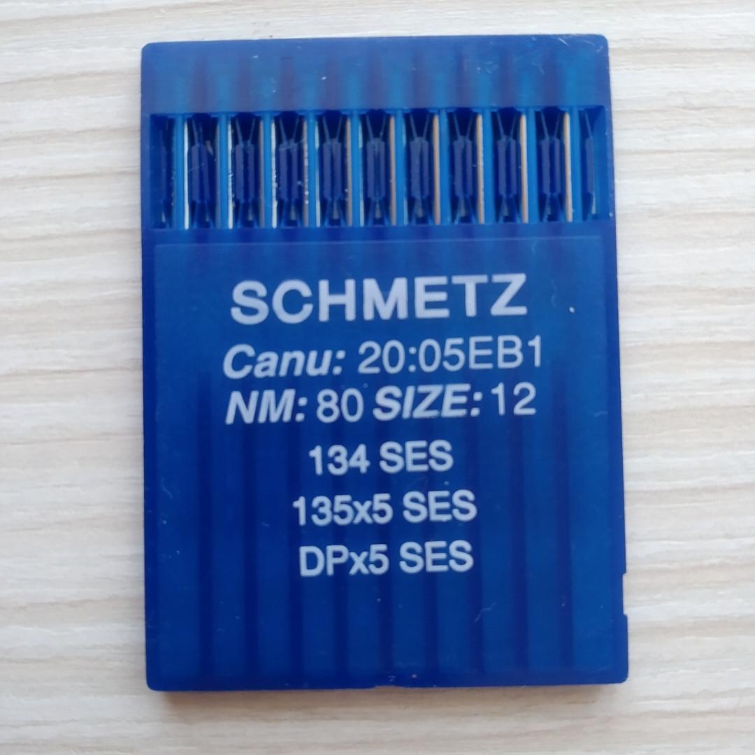 Голки Schmetz DP5/SES/ 80 /12  для промислових швейних  машин
