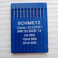 Голки Schmetz DB5/SES/ 80 /12  для промислових швейних  машин