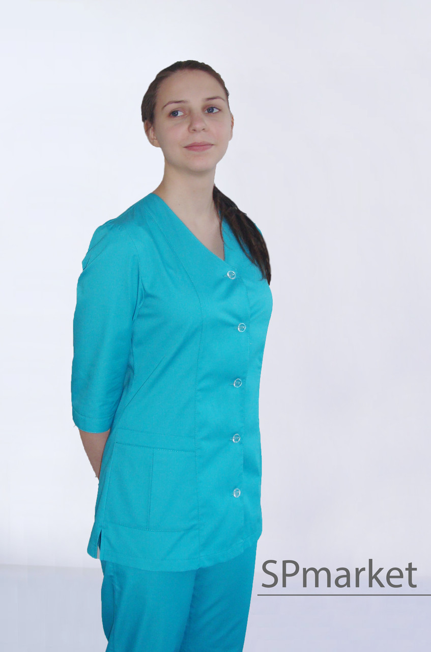 Медицинская куртка женская
