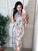 Летнее платье в цветочный принт, фото 1