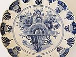 Настенная фарфоровая тарелка, бело-синий фарфор, Делфт, Delft, Голландия, фото 5