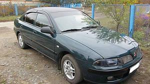 Ветровики Mitsubishi Carizma Hb 1995-2004  дефлекторы окон