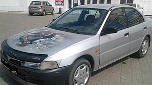 Мухобойка, дефлектор капота Mitsubishi Lancer '10.1995–08.1997 г.в.