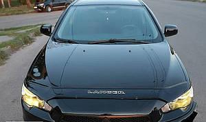 Мухобойка, дефлектор капота Mitsubishi Lancer с 2007- г.в