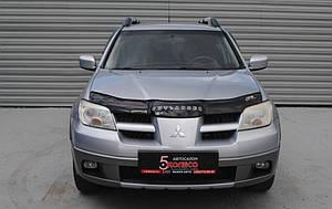 Мухобойка, дефлектор капота Mitsubishi Outlander с 2001-2007г.в