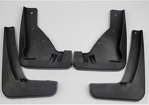 Брызговики полный комплект для Mitsubishi ASX 2010- (MZ314440;MZ314441), комплект 4шт. MF.MIASX2010