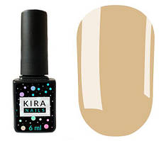 Гель-лак Kira Nails №015 (бежевый, эмаль), 6 мл
